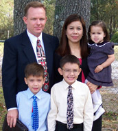 Bennett Family, missionaries to Philippines