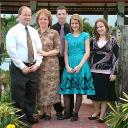 The Sisson Family, missionaries to the Philippines