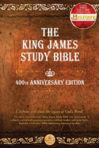 The King James Study Bible 400th Ann. Edition