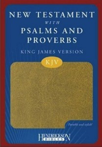 NT and Psalms:Proverbs
